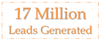 17 Million Leads Generated