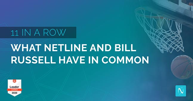11 in a Row: What NetLine and Bill Russell Have in Common