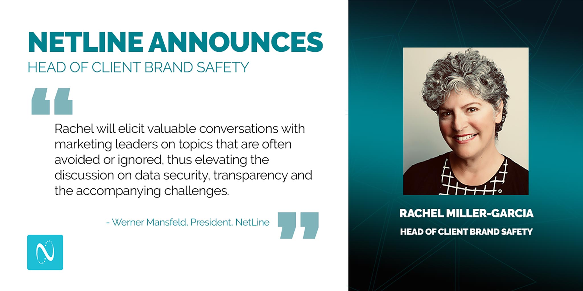 NetLine Announces Head of Client Brand Safety to Support Industry Awareness on Data Privacy