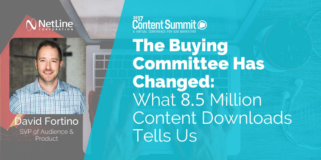 NetLine - leader in B2B Content Syndication Lead Generation - Content Summit 2017